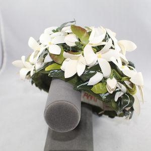Amy New York White Gardenia Flower Ladies Hat
